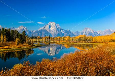 Grand Teton National Park Stock Photos, Royalty.