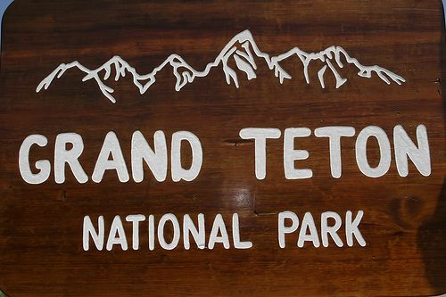 Grand tetons outline clipart.