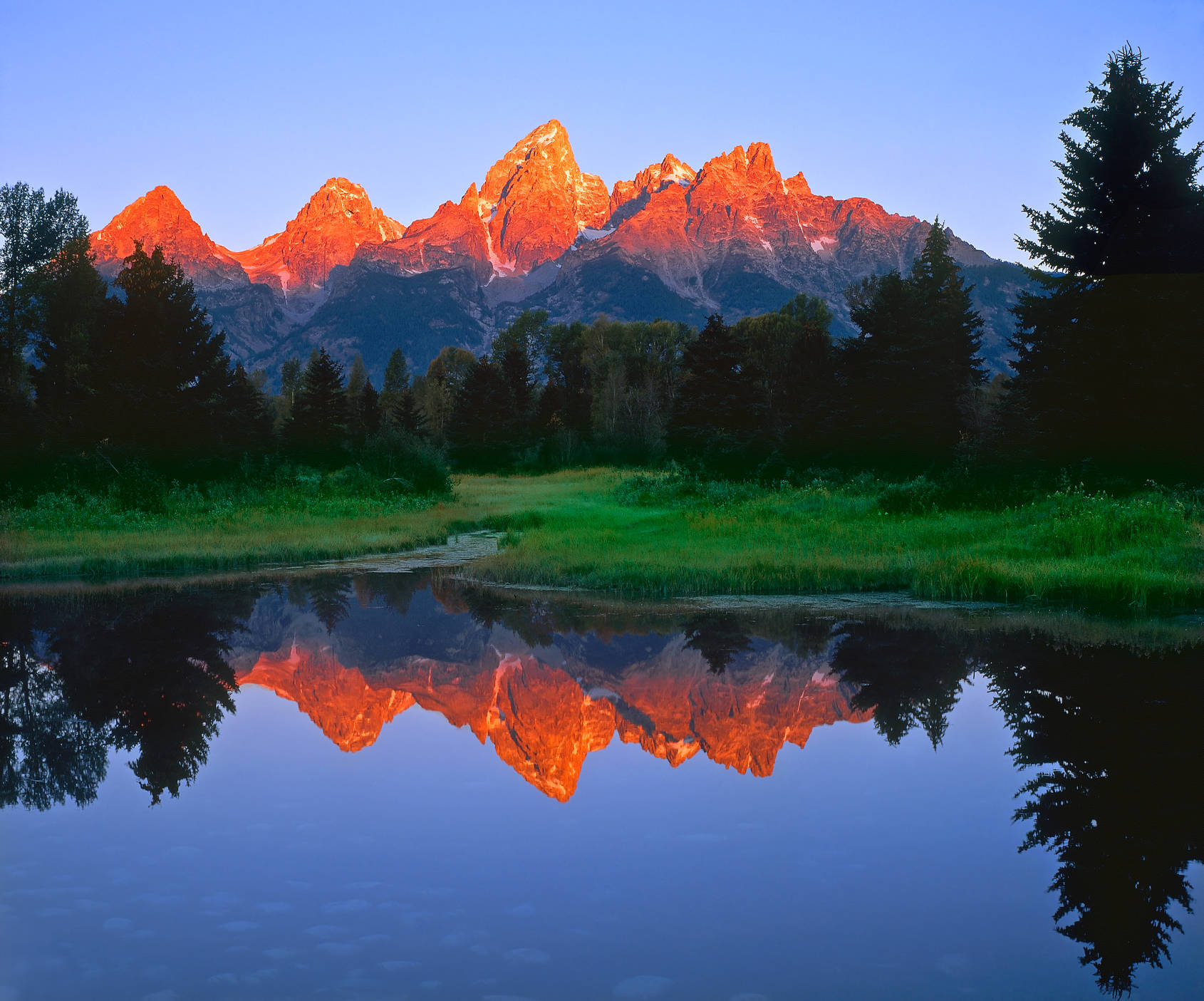 Grand tetons national park clipart - Clipground