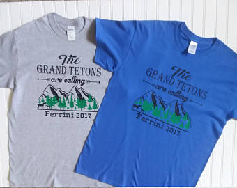 Grand tetons t shirt.