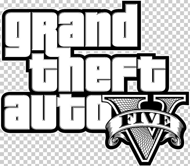 Grand Theft Auto V Logo Graphics Loading Screen PNG, Clipart.