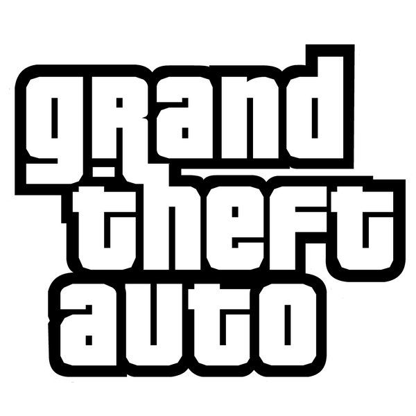 Grand Theft Auto Font and Logo.