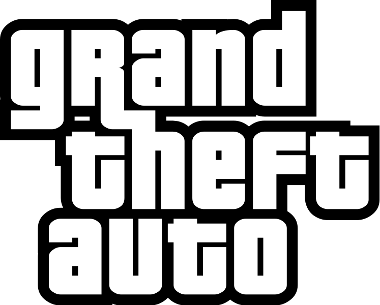 File:Grand Theft Auto logo series.svg.