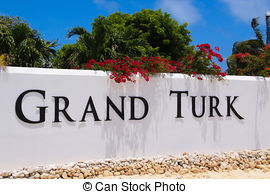 Stock Photographs of Grand Turk.