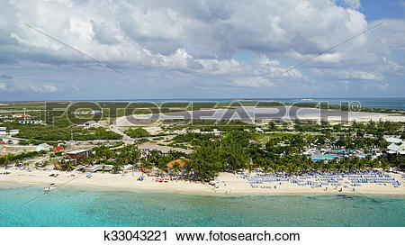Stock Photography of Grand Turk in the Turks and Caicos k33043221.