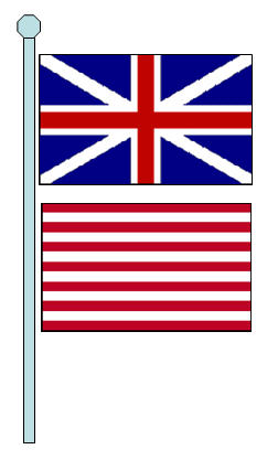 Grand union flag clipart #6