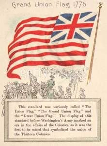 Flags of the United States: Grand Union Flag.