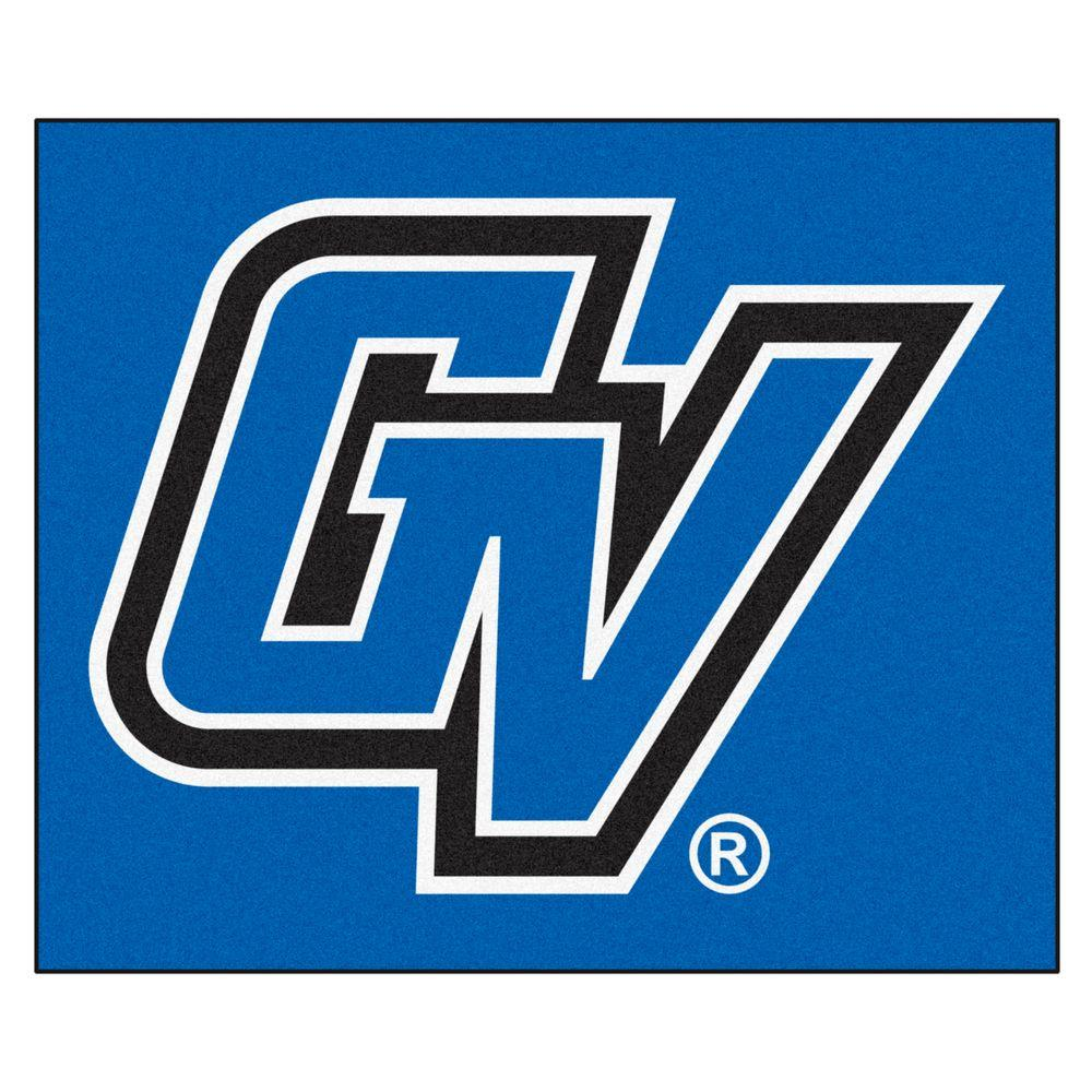 FANMATS NCAA Grand Valley State University Blue 5 ft. x 6 ft. Area Rug.