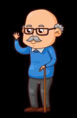 Grandpa Clipart.