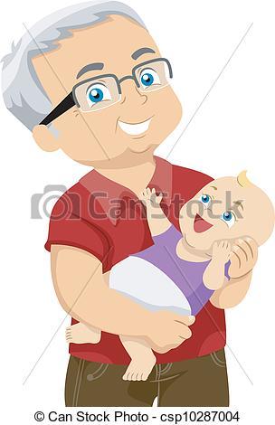 Grandchild Clipart and Stock Illustrations. 397 Grandchild vector.