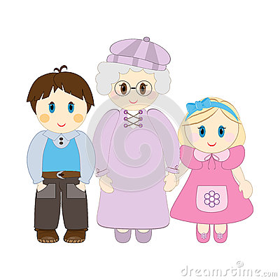 Grandchildren Clip Art And Saying.