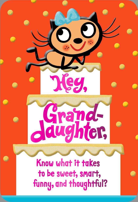 Granddaughter Birthday Cards Age 14 Amazon Envelopes 3.