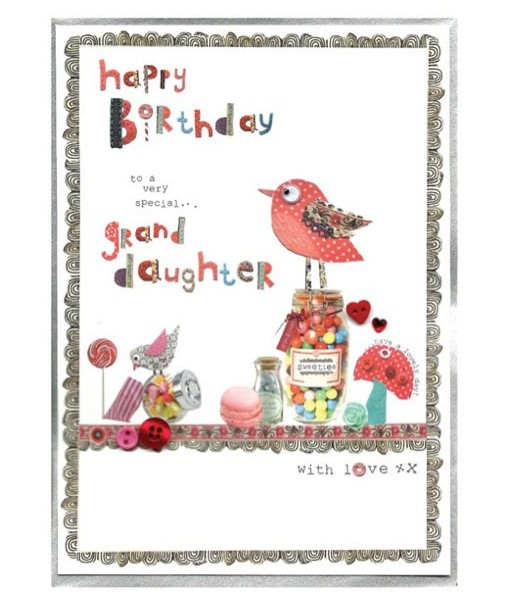Granddaughter Birthday Cards.