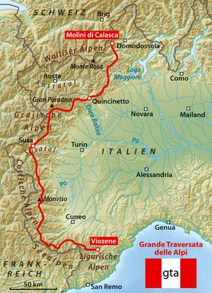 Grande Traversata delle Alpi.