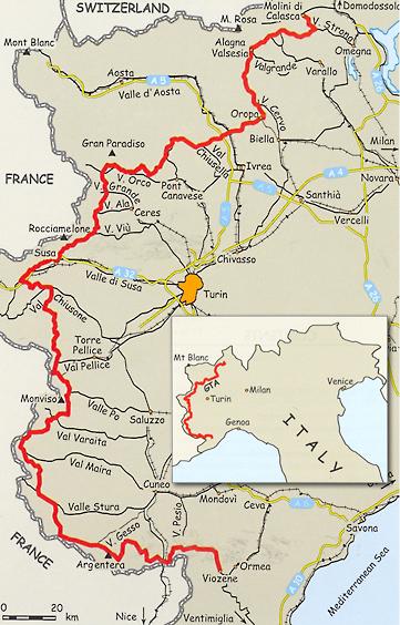 Through the Italian Alps: The Grande Traversata delle Alpi.