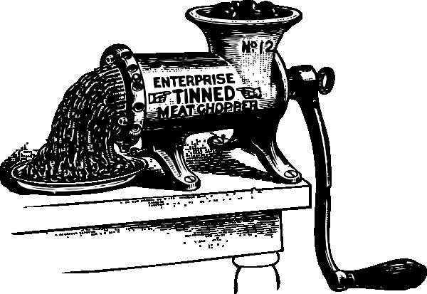 Meat grinder clipart #9
