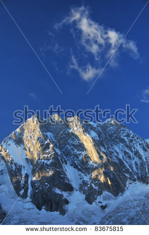 The Grandes Jorasses Stock Photos, Images, & Pictures.