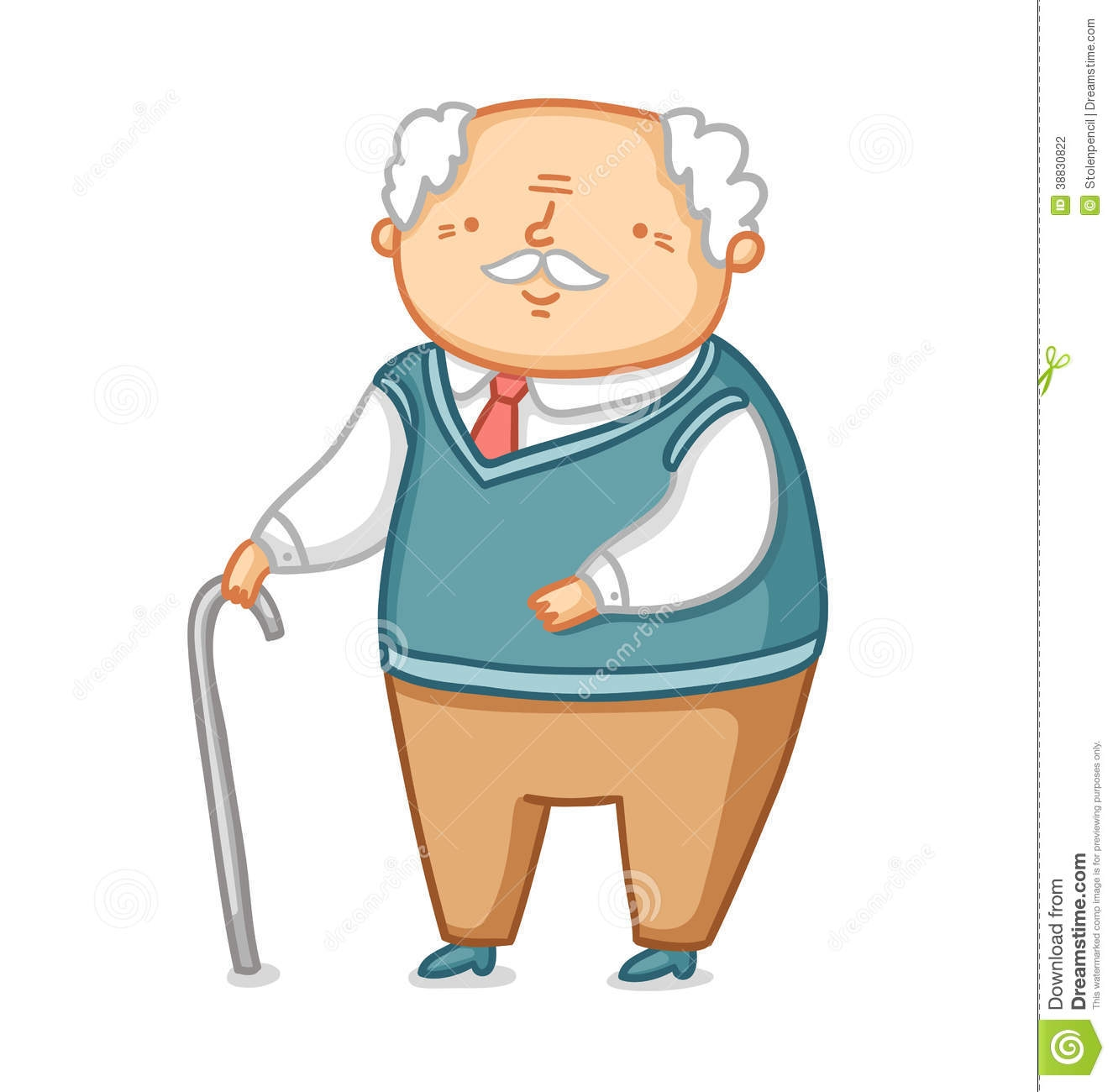 Grandfather clip art.