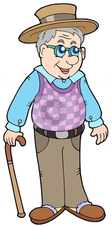 Grandfather clipart free.