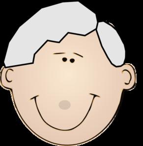 Grandpa Face Clip Art at Clker.com.
