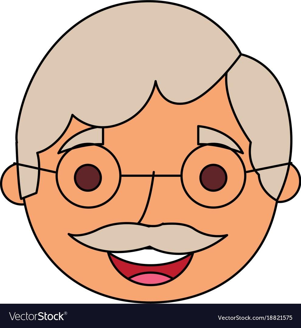 Grandfather face clipart 6 » Clipart Portal.
