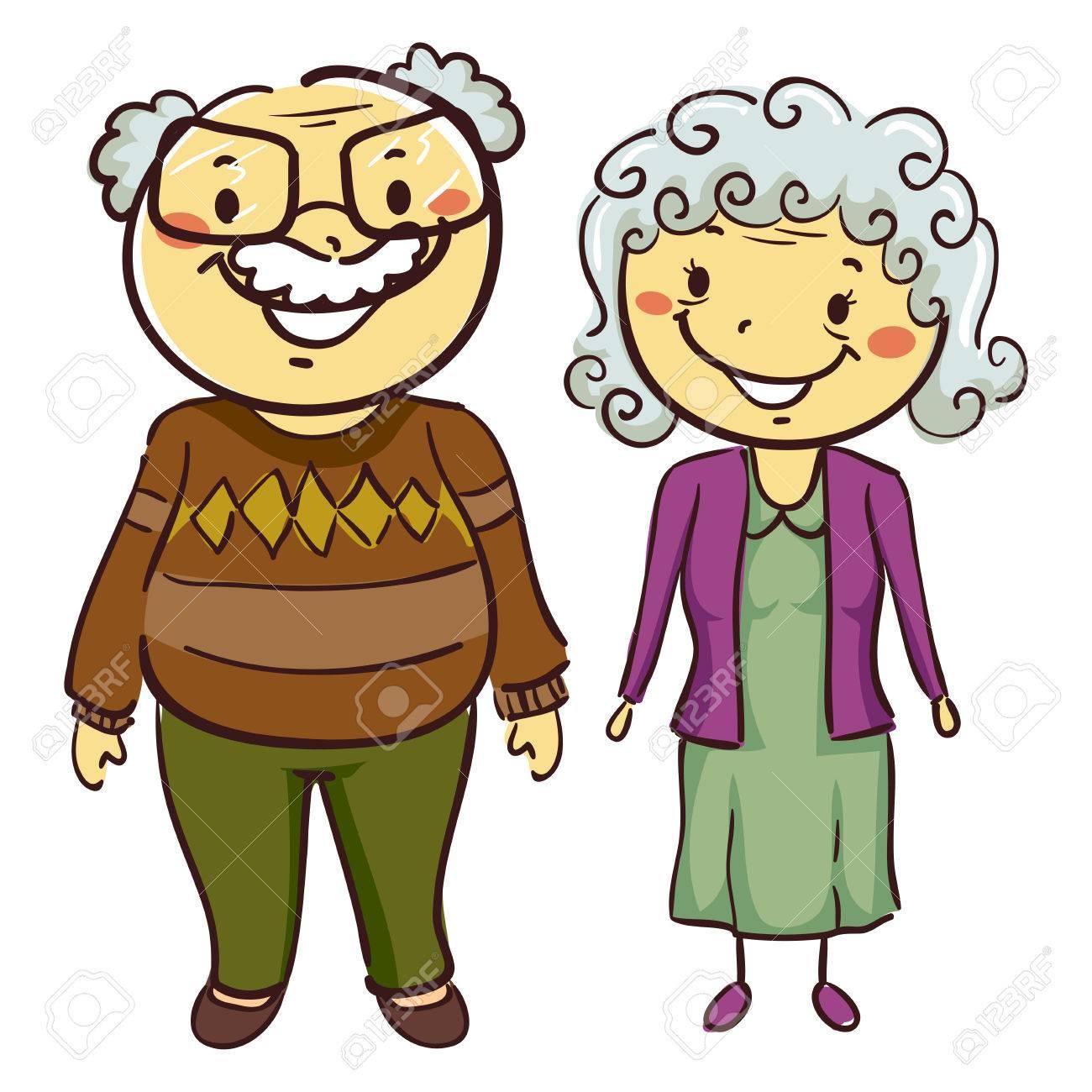 Grandma and grandpa clipart 4 » Clipart Station.