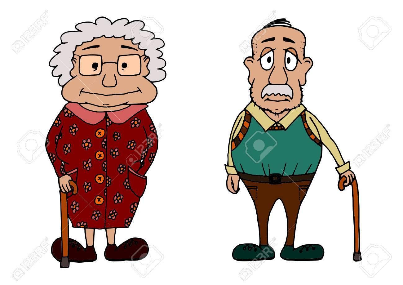 Grandma and grandpa clipart 7 » Clipart Portal.