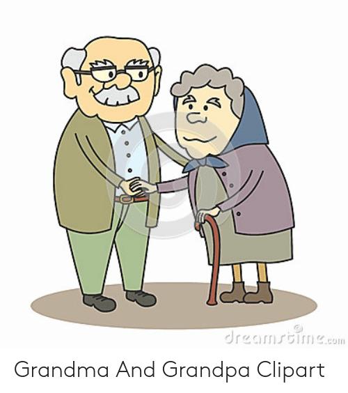 Dreamstimeco Grandma and Grandpa Clipart.