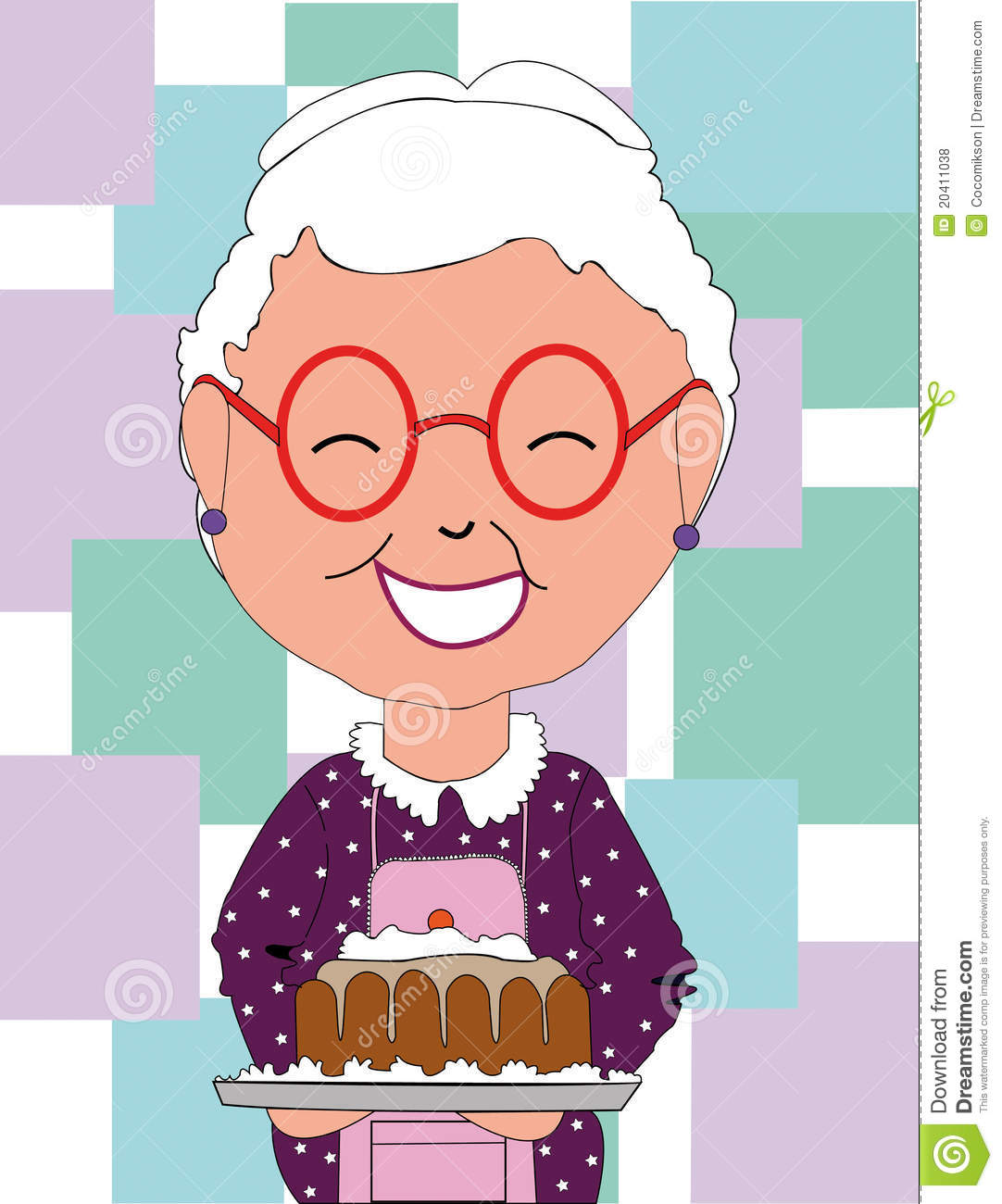 Grandma Birthday Clipart.