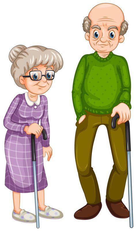 Grandpa and grandma clipart clip art library.
