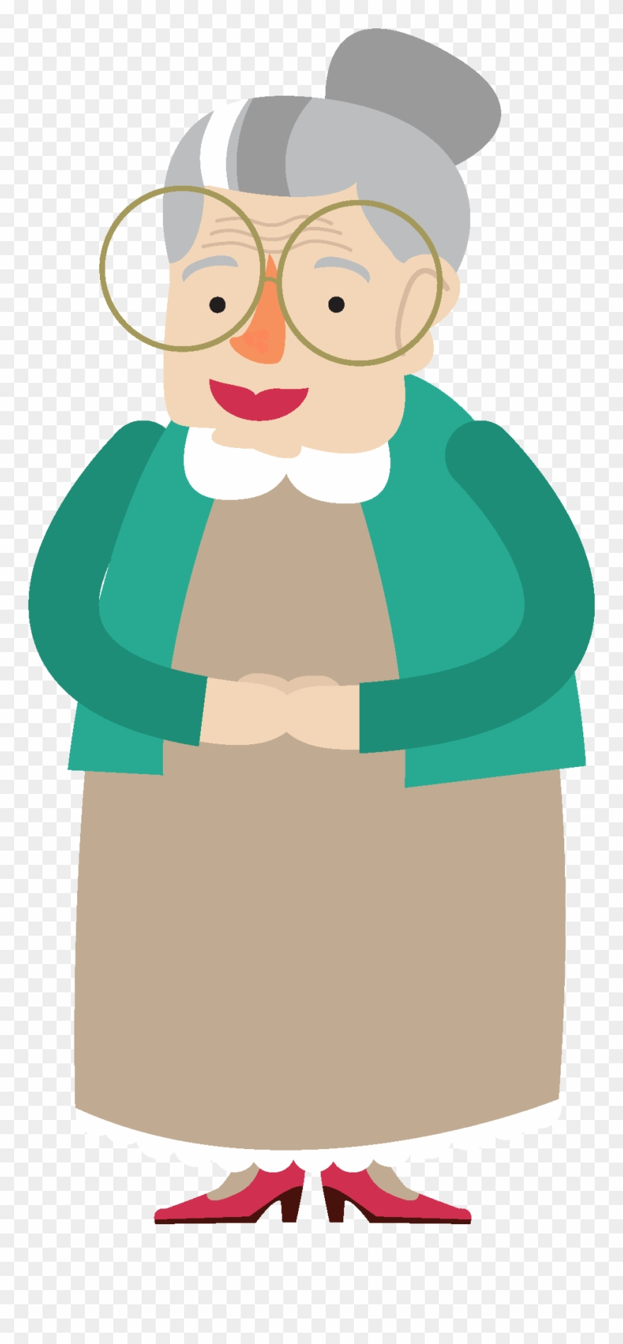 Grandmother Clipart Png Transparent Png (#3117286).