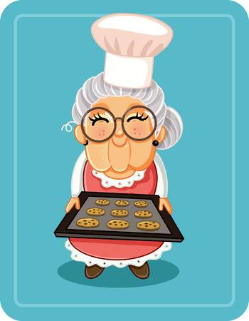 418 Grandmother Cooking Stock Illustrations, Cliparts And Royalty.