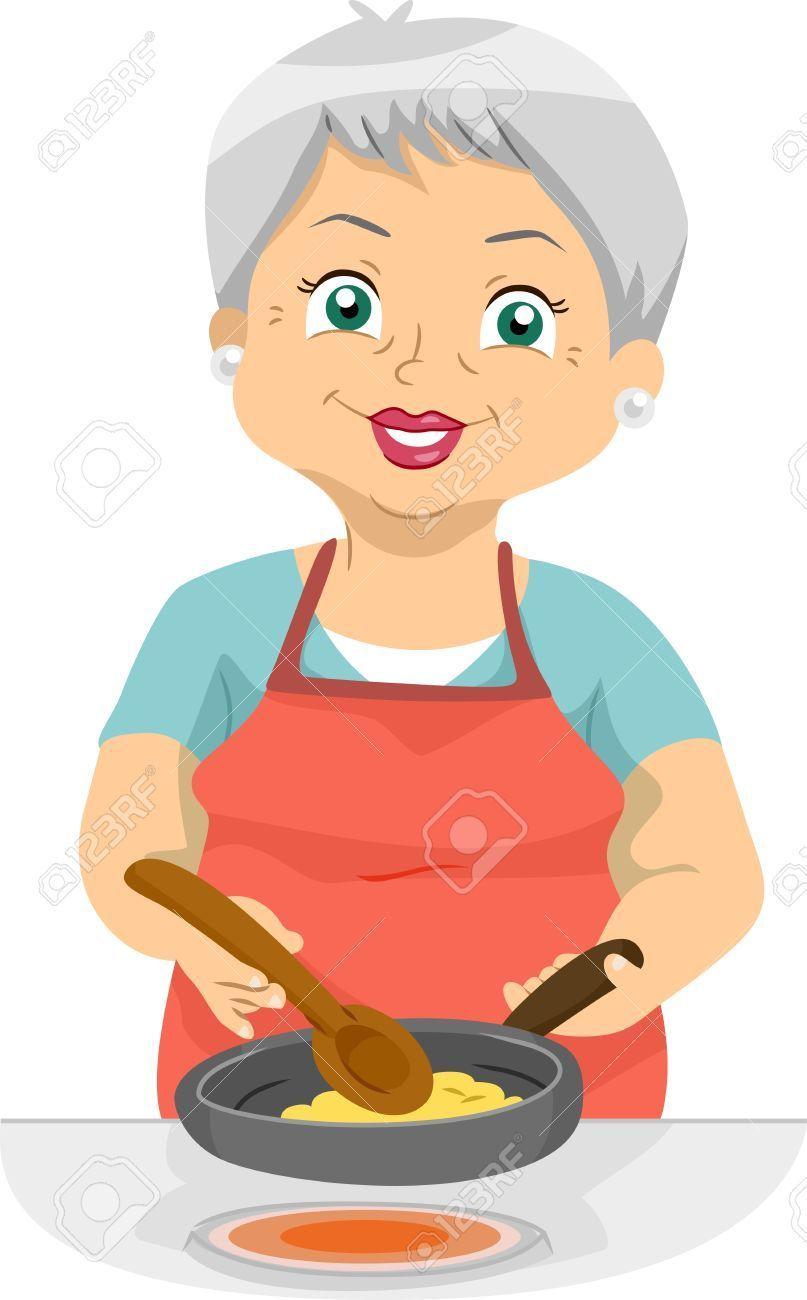 Grandma cooking clipart 7 » Clipart Portal.