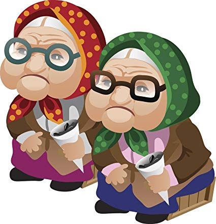 Amazon.com: Cute Old Grandma Twin Sisters Best Friends.