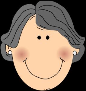 Happy Grandma Clip Art at Clker.com.