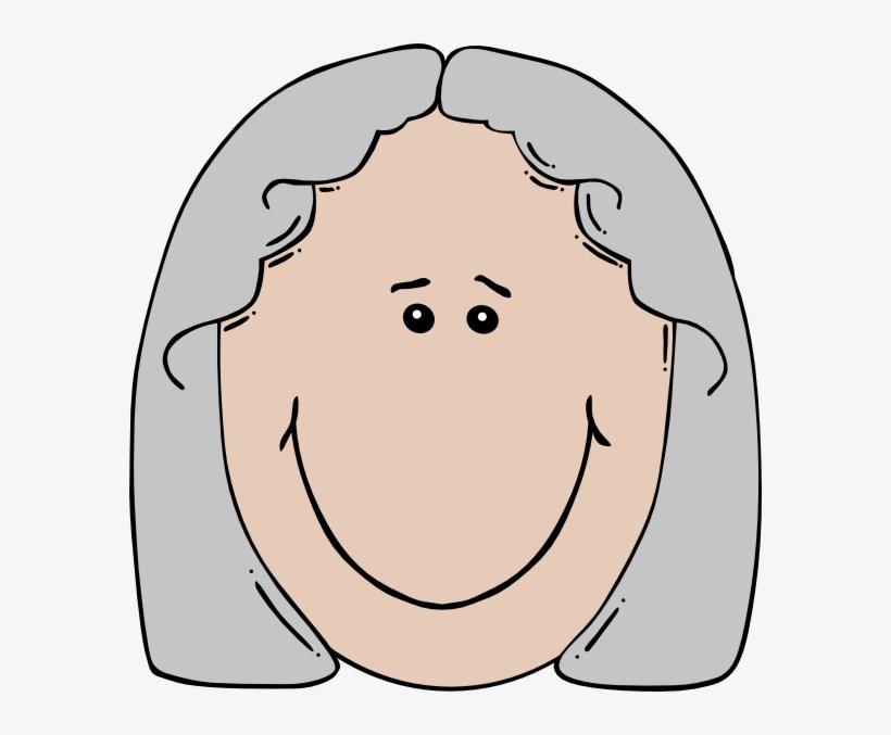 Svg Free Download Grandma Face Clipart.