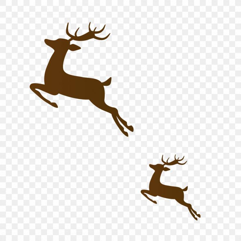 Reindeer Brown Run, PNG, 1000x1000px, Reindeer, Android.