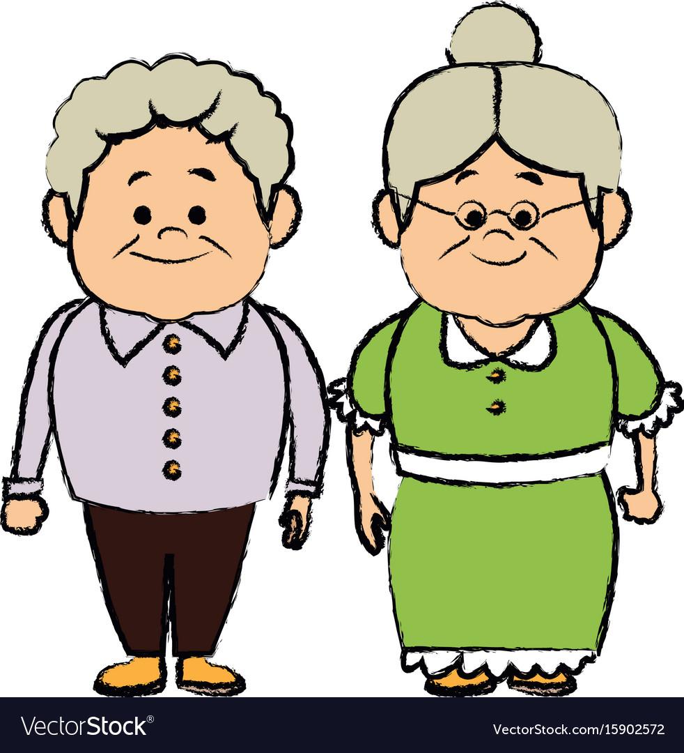 Grandpa and grandma clipart 5 » Clipart Station.