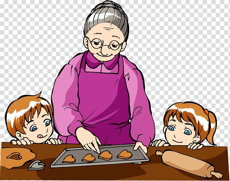 Wat Recipe Eintopf Cooking Grandparent, grandma transparent.