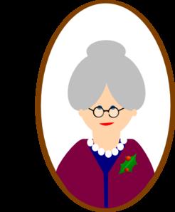 Grandma Clip Art at Clker.com.