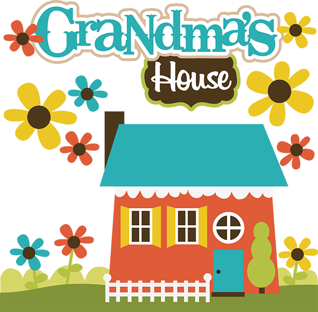Grandma's House SVG Collection svg files for scrapbooking grandma's.