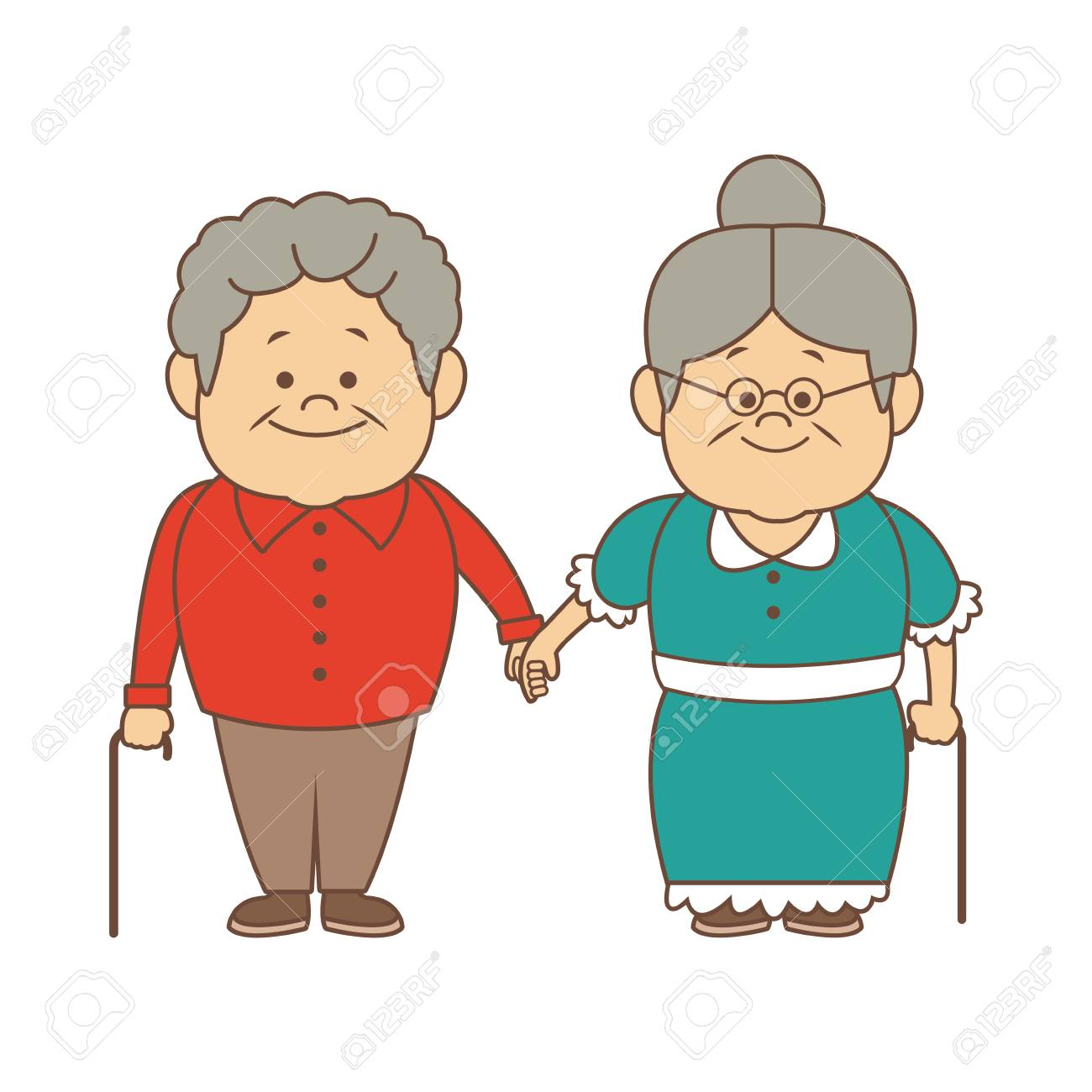 Grandmother And Grandfather Clipart Free Download Clip Art.