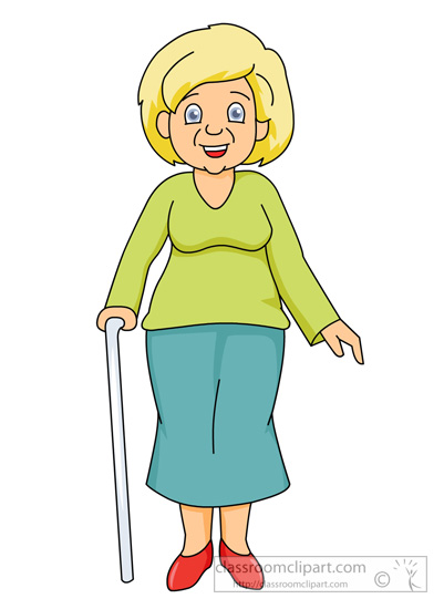 Grandmother Clipart.
