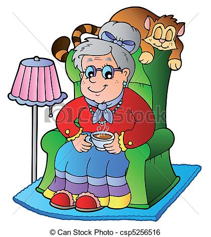 Grandmother Clipart and Stock Illustrations. 7,095 Grandmother.