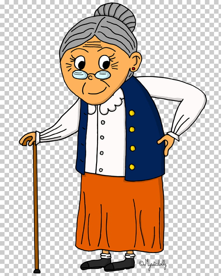 Drawing grandmother Character, others PNG clipart.