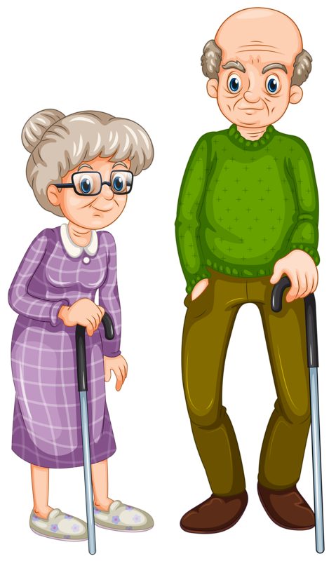 Royalty Free Stock Grandmother Clipart G #71653.
