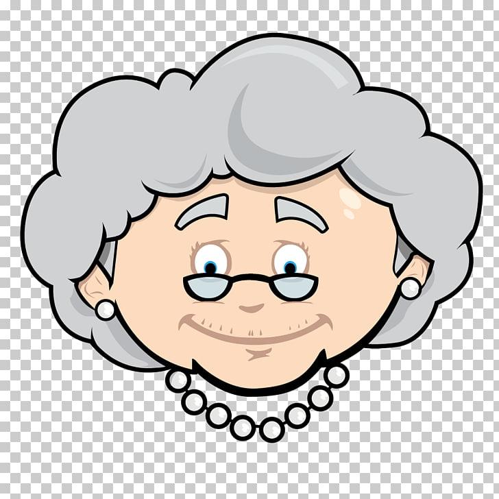 Coupon Cartoon Gift card , cartoon grandmother PNG clipart.