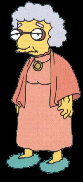 Grandma Van Houten.