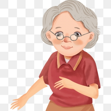 Grandmother Png, Vector, PSD, and Clipart With Transparent.