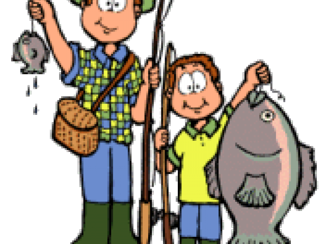 Grandfather clipart fishing, Grandfather fishing Transparent.